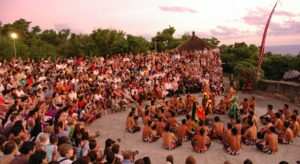 Kecak dance Bali 300x164 Tari Kecak Bali
