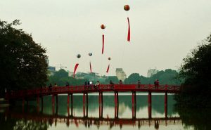 Hoan Kiem Lake Hanoi 300x185 Explore Vietnam   Hanoi City Tour   Hoa Lu and Tamcoc