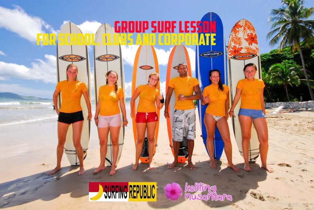 Group Surf 1024x686 Group Surf Lesson for School, Clubs and Corporate
