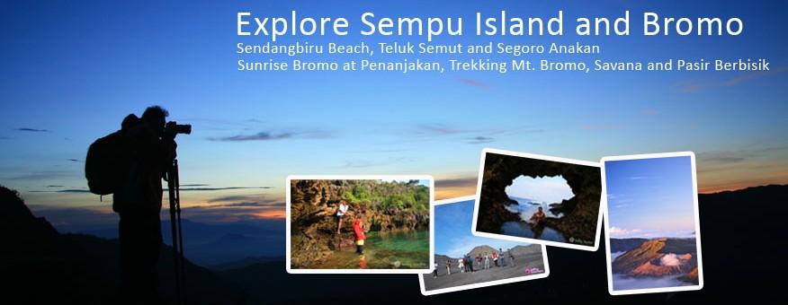 Explore Sempu Island and Mt. Bromo 2014