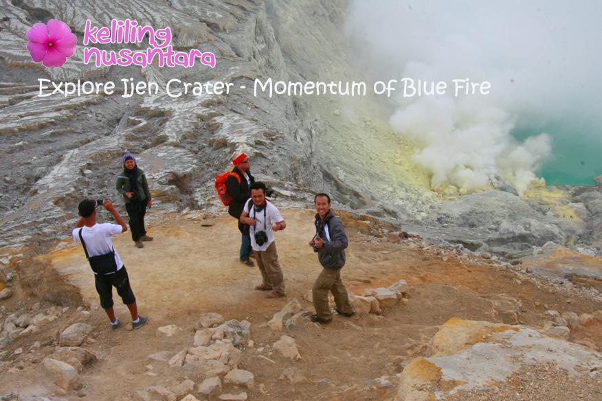 Label Explore Ijen Bluefire Explore Ijen Crater   Blue Fire Moment