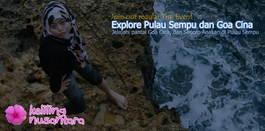 Banner Explore Pulau Sempu dan Goa Cina Explore Sempu Island and Goa Cina