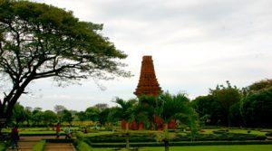 Candi Bajang Ratu Trowulan 300x167 Tourism Destinations around Surabaya   East Java