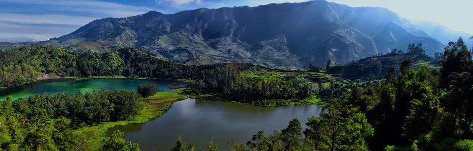 Telaga Warna Dieng Plateau
