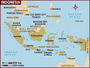 map of indonesia 300x225 West Java Surfing Review
