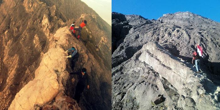 Menuju Puncak Gunung Raung