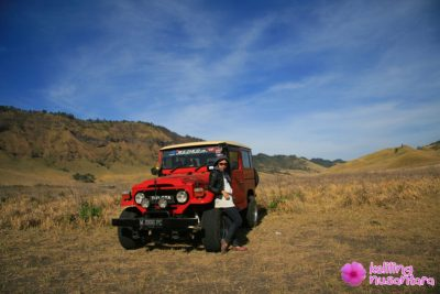 rental jeep in Bromo