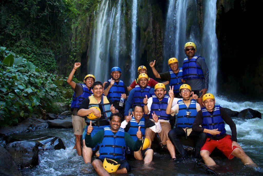 Rafting at Pekalen river