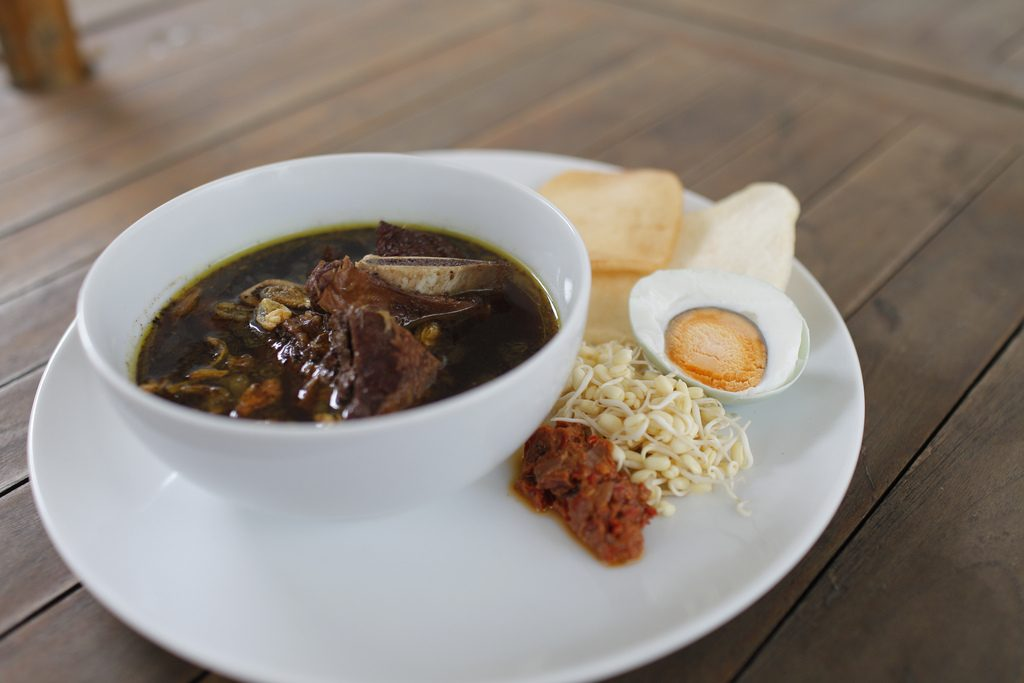 Rawon soup of Surabaya