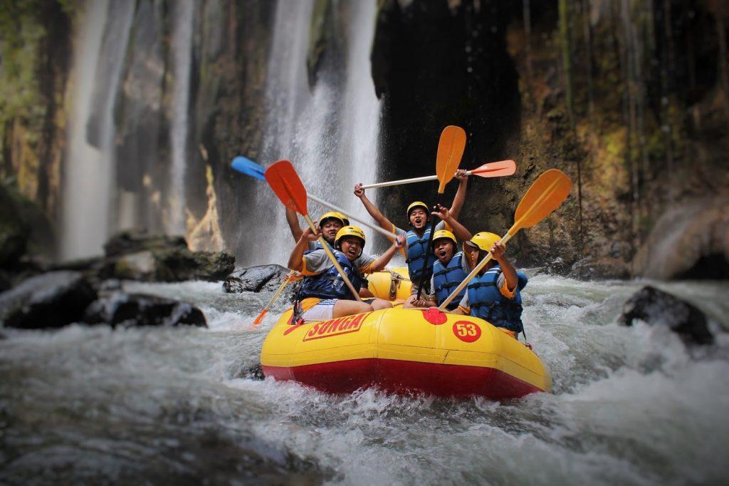 Pekalen river rafting adventure