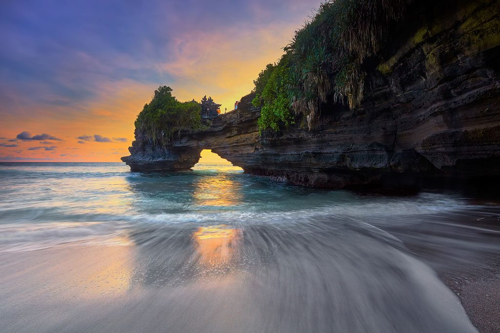 Batu Bolong beach view