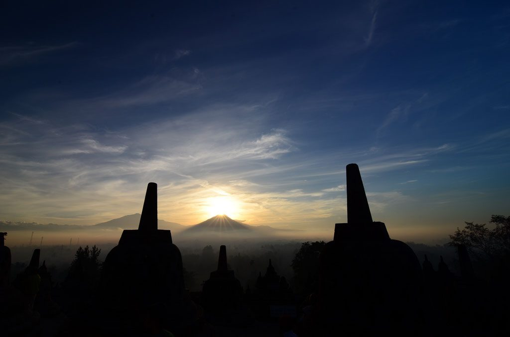 Borobudur perfect sunrise