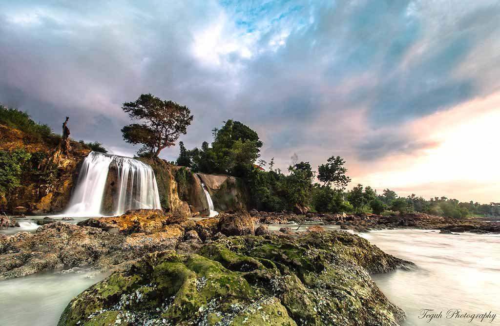 Landscape Air terjun Toroan Sampang