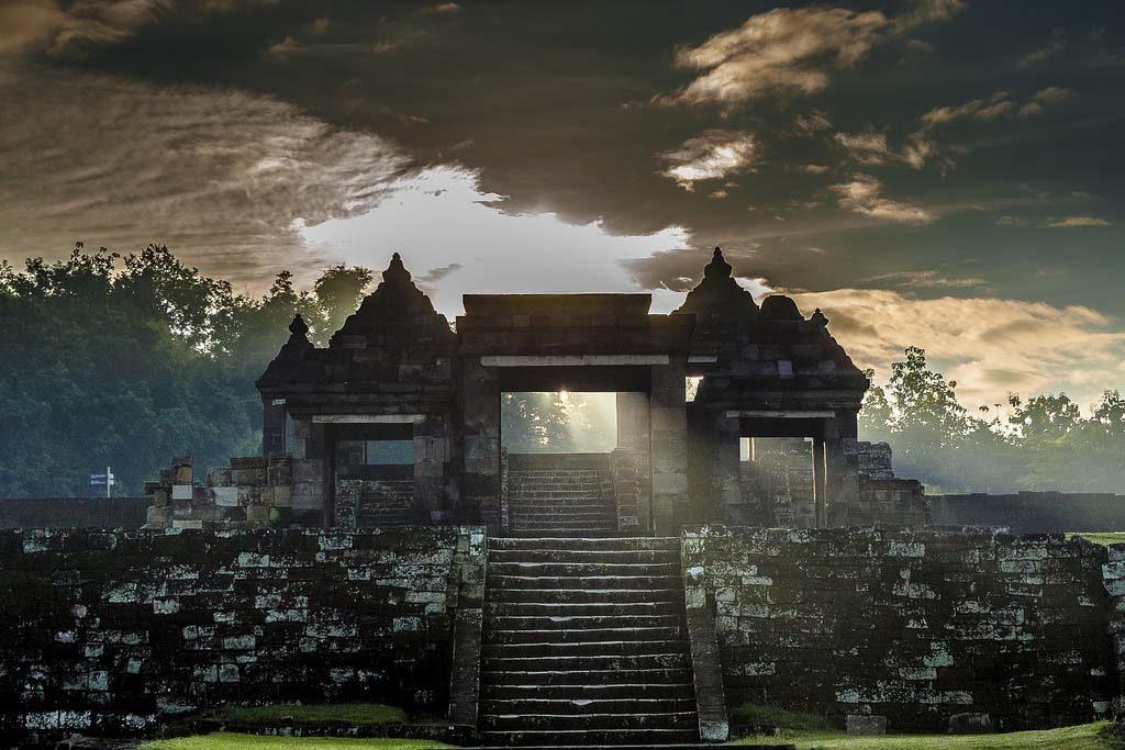 Ratu Boko palace