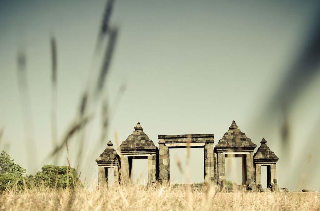 Ratu Boko site view