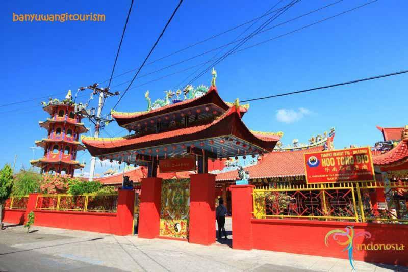 Ho Tong Bio Chinese temple Banyuwangi