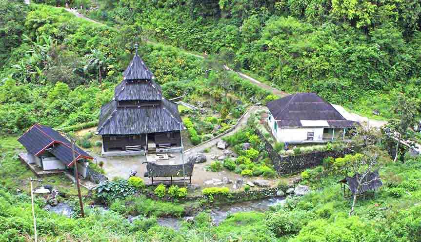Kayu Jao old mosque - Solok, West Sumatera