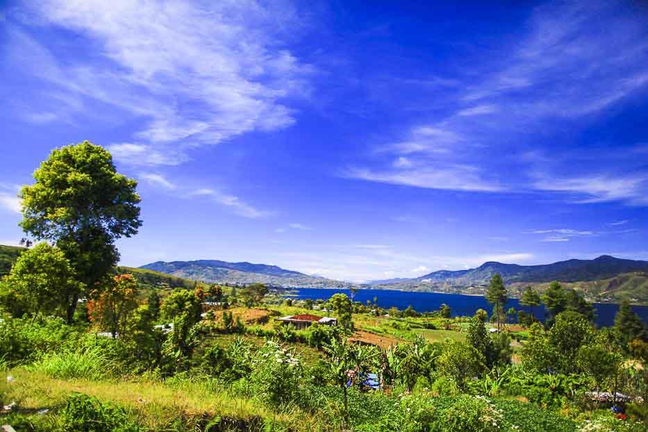 Landscape Danau Kembaar Solok