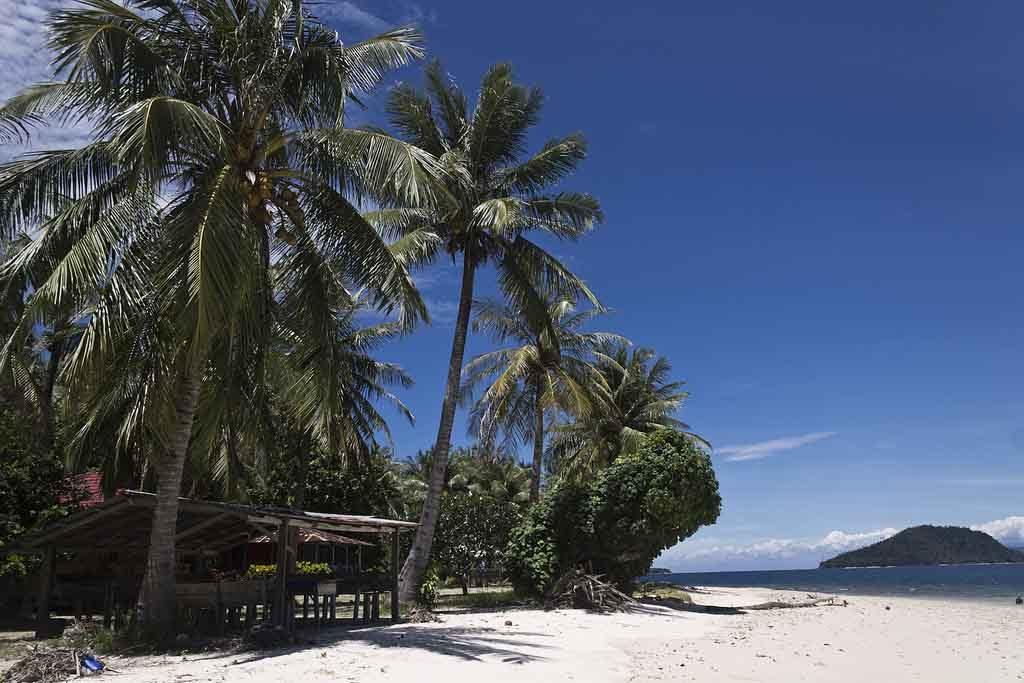 Pagang island West Sumatera