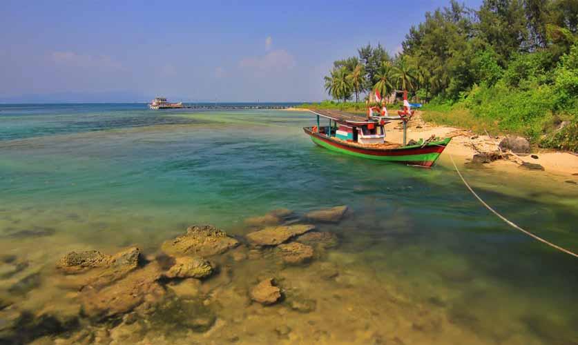 Explore Sangiang island