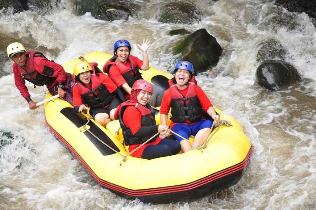 Rafting di Kaliwatu - Kota Batu