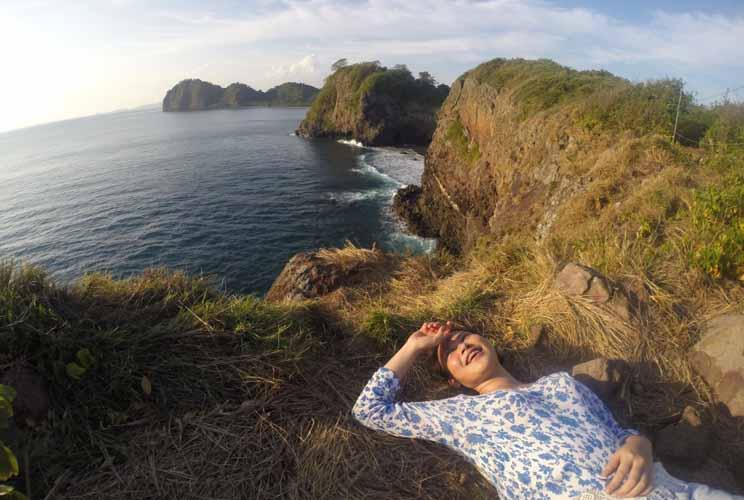 Relaxing at Sangiang island