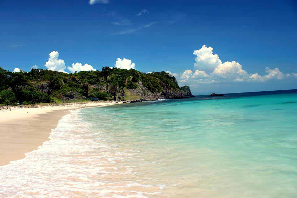 Sangiang island beach