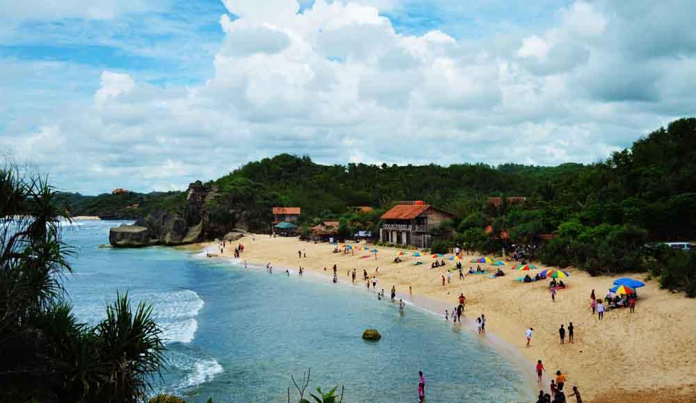 View Pantai Indrayanti