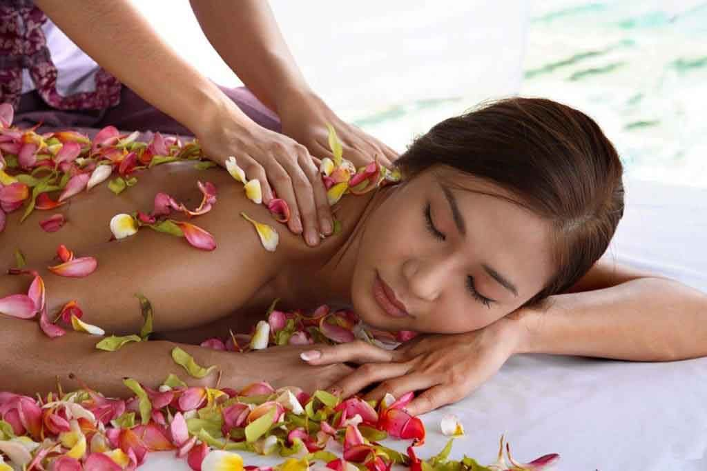 Balinese spa and massage