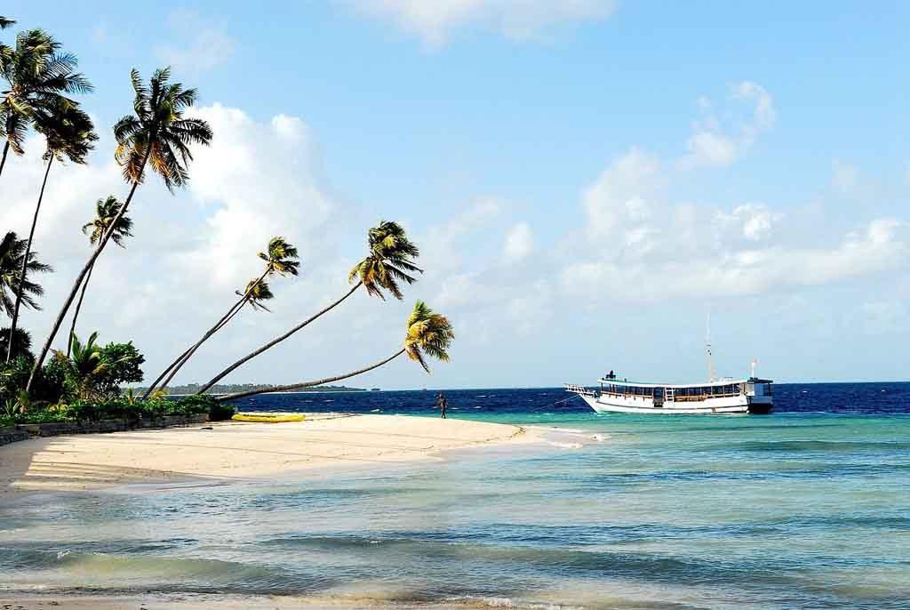 Beautiful beach in Wakatobi