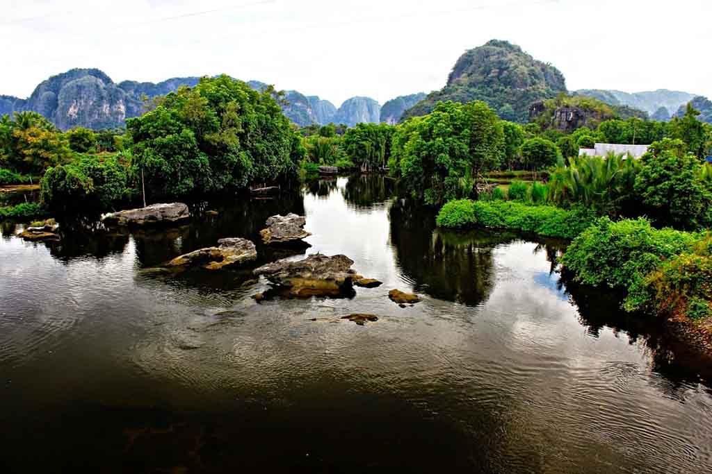Landscape of Ramang-Ramang