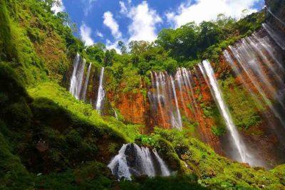 Tumpak Sewu waterfall Lumajang 400x267 Search tour package