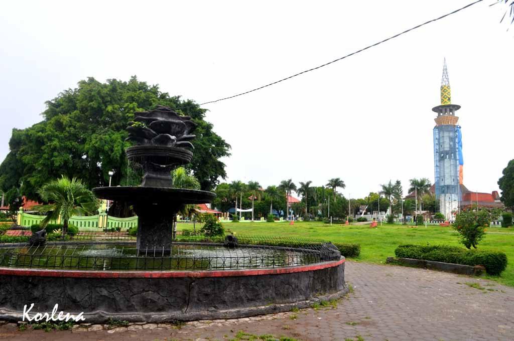 Alun-alun kota Magetan