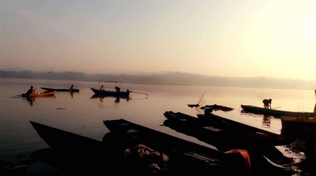 Sunset at Waduk Gajah Mungkur