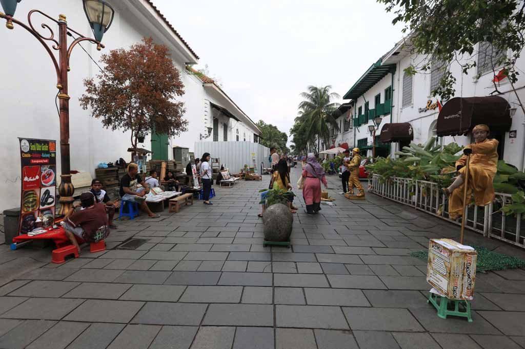 Suasan Kota Tua Jakarta