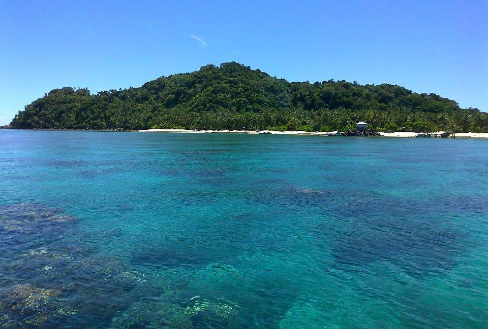 Pulau Senua Natuna Kepulauan Natuna Permata Indonesia dari Utara
